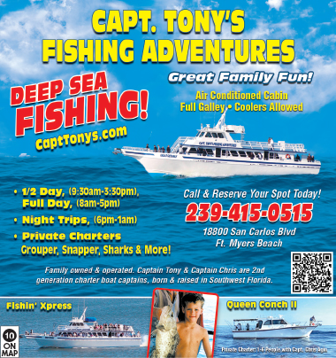 for Half day fishing trips fort myers
